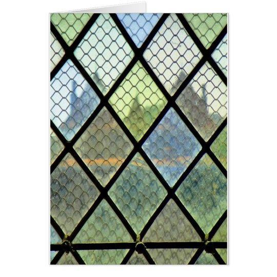 Fönsterkonst Hälsningskort