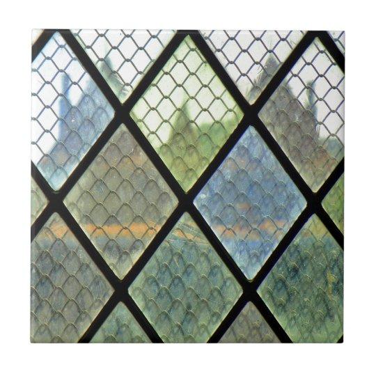 Fönsterkonst Liten Kakelplatta