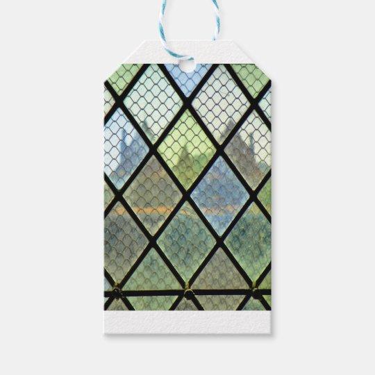 Fönsterkonst Presentetikett