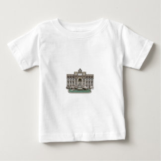 Fontana di Trevi: Trevi-fontän: 3D modellerar: T-shirt