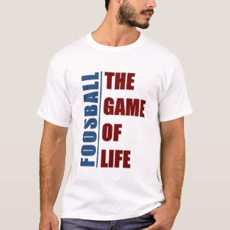 Foosball leken av liv t-shirt