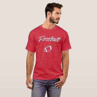 Foosball skjorta för denmycket fotbollfläkten t-shirt