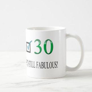 För 30års födelsedag kaffemugg