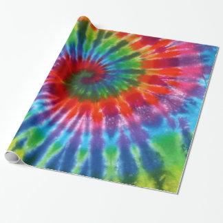 För 60-talTie för Hippy fred Retro färg Presentpapper
