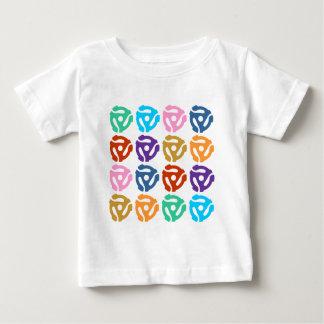 För adapterpop för r/min 45 rekord- konst tee shirt