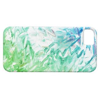 För akrylmålning för original abstrakt iphone case barely there iPhone 5 fodral