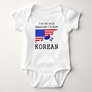 För amerikan korean också t shirt