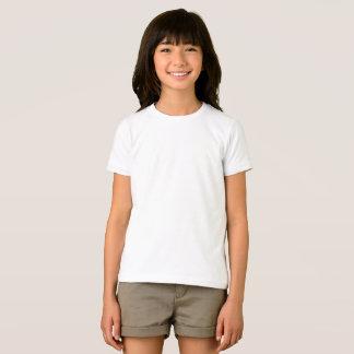 För amerikandräkt för beställnings- flickor tshirts