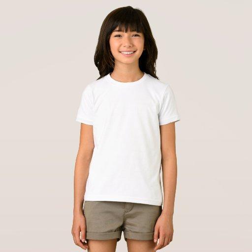 Flick American Apparel Fin Jersey T-Shirt, Vit