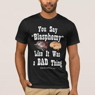 För amerikandräkt för hädelse grundläggande tee shirt