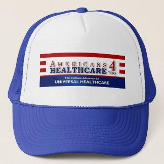 För amerikaner 4 för sjukvård lock för truckerkeps