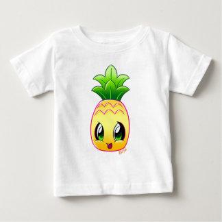 För ananasbaby för hand plockade tropisk tshirts