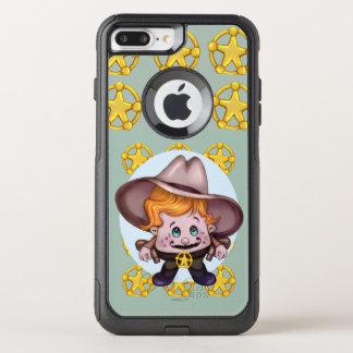 För Apple för ÄLSKLINGS- COWBOY FRÄMMANDE CS för OtterBox Commuter iPhone 7 Plus Skal