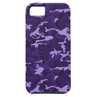 För Apple för lilakamouflagemönster fodral iPhone iPhone 5 Hud