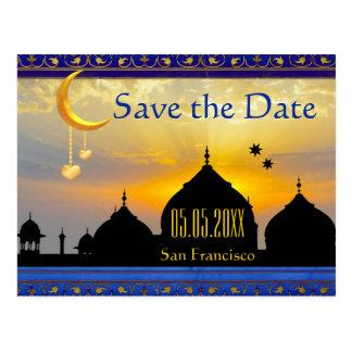 För arab sagaspara på nätterna dateravykortet vykort