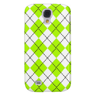 För Argyle för limefrukt grönt fodral iPhone 3G Galaxy S4 Fodral