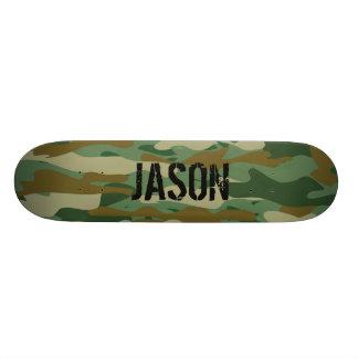 För armocamo för anpassningsbar känt däck för skateboard bräda 21,5 cm