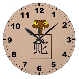 För astrologisymbol för orm kinesiska klockor
