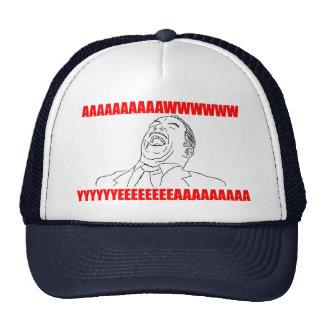 för awwww rofl för lol för ursinne yeah komisk mesh kepsar