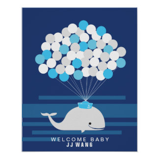 För baby showergäst för val | tryck för bok poster