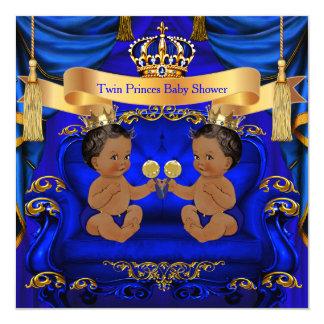 För baby showerpojke för person som tillhör en fyrkantigt 13,3 cm inbjudningskort