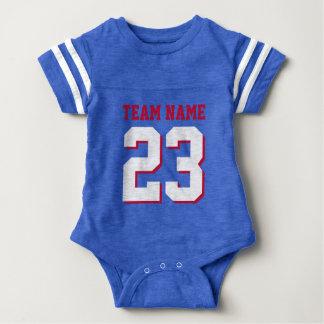För babyfotboll för kungliga blått röd för Jersey Tee Shirts