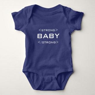 För babyHTML för Geek stark Bodysuit för T-shirt