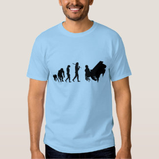 För Bach Mozart för pianogåvapianister musik T-shirts