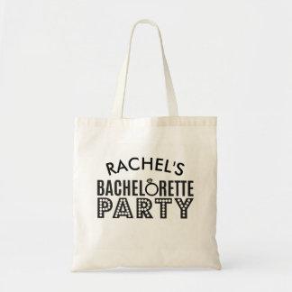 För Bachelorette för brudens sida beställnings- Tygkasse