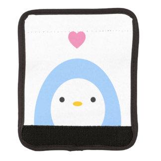 För bagagehandtag för pingvin förälskad sjal