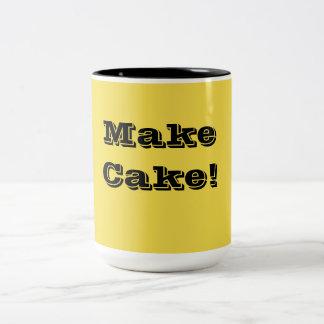 För bagaren i dig! Två-Tonad mugg