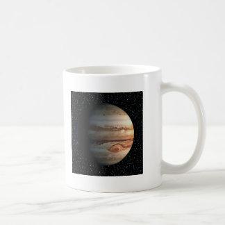~ för bakgrund för PLANETJUPITER stjärna (sol- Kaffemugg