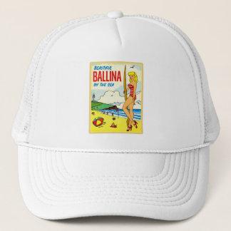 För Ballina för vintagehötorgskonst härlig dekal Keps