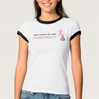 För bandmedvetenhet för bröstcancer rosa skjorta t shirt