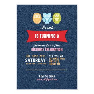 För barn för inbjudan för födelsedag för
