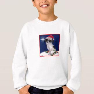 För barn för Papillon jultröja Tshirts