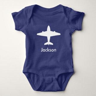 För barn för personligflygplanskjorta tshirts
