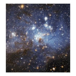 För barnkammareutrymme för LH 95 stjärn- fotografi