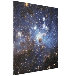 För barnkammareutrymme för LH 95 stjärn- fotografi Canvastryck
