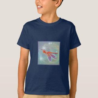 """För barnmörk """"för glödande slända"""" T-tröja T-shirt"""