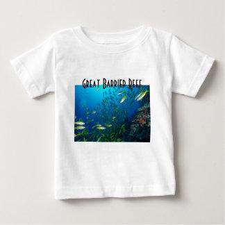 För barriärrevkorall för tropisk fisk underbart t shirt