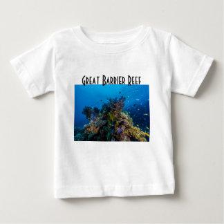 För barriärrevkorall för tropisk fisk underbart t-shirt