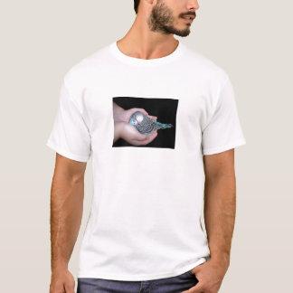 För bebisbudgie för flicka hållande skjorta tshirts