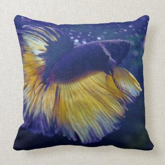 För Betta för kobolt Male dekorativ kudde