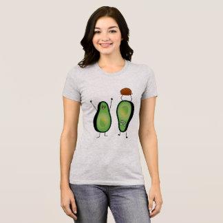 För bifallhandstans för avokado rolig grop för tee shirt