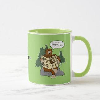 För Bigfoot för Sasquatch gåvaidé rolig mugg