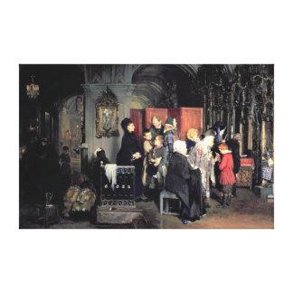 För bikten 1877 canvastryck