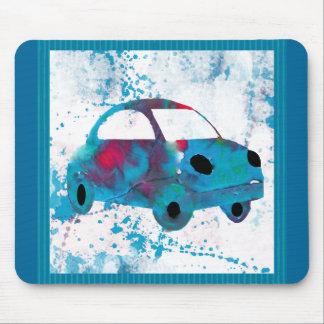 För bilBuggy för Hippie Retro vattenfärg Musmatta