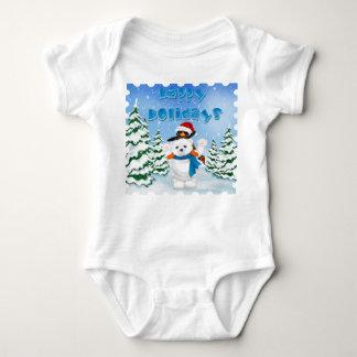 För björnpingvin för glad helg polar ranka för tee shirt