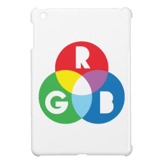 För blåttcolur för RGB röd grön blandning iPad Mini Skal